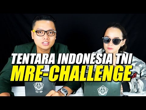 MAKANAN TENTARA INDONESIA   MRE TNI CHALLENGE