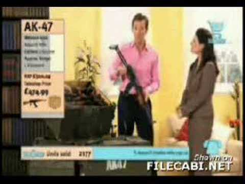 AK-47 sale on Home shopping network