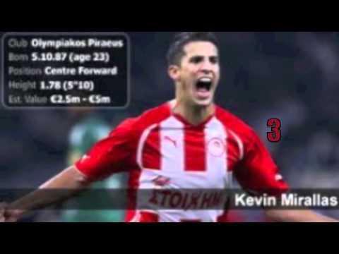Kevin Mirallas Top 5 Goals