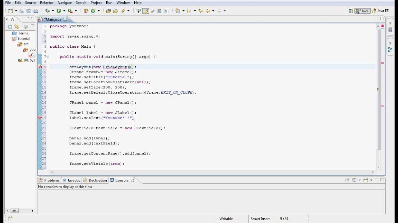 Java gui programming tutorial 8 text fields hd youtube java gui programming tutorial 8 text fields hd baditri Choice Image