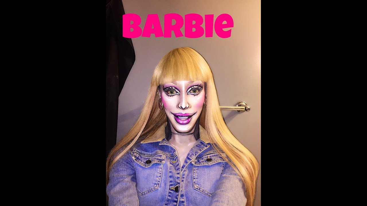 Barbie Makeup: Barbie Makeup Tutorial