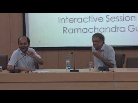 Interaction with Mr Ramachandra Guha | Public Policy Group | Nalsar University Of Law