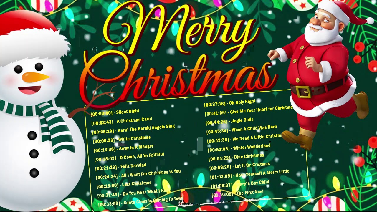 Beautiful Old Christmas Songs Playlist 2021 Playlist - Top Old Christmas Songs Playlist 2021
