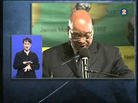President Zuma delivers the ANC Centenary lecture on Albert Luthuli