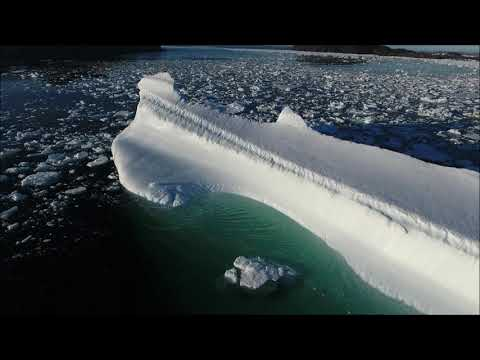 Curt Williams - Amazing Drone Footage Of An Iceberg