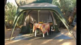 Camping Nopigia Chania Crete Greece 2013