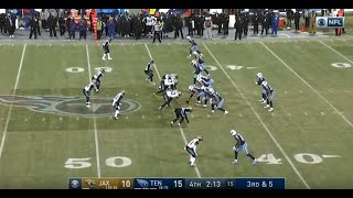 The Tennessee Titans Clinch The Wild Card - Defense Steps Up Big - Mariota Stiff Arm