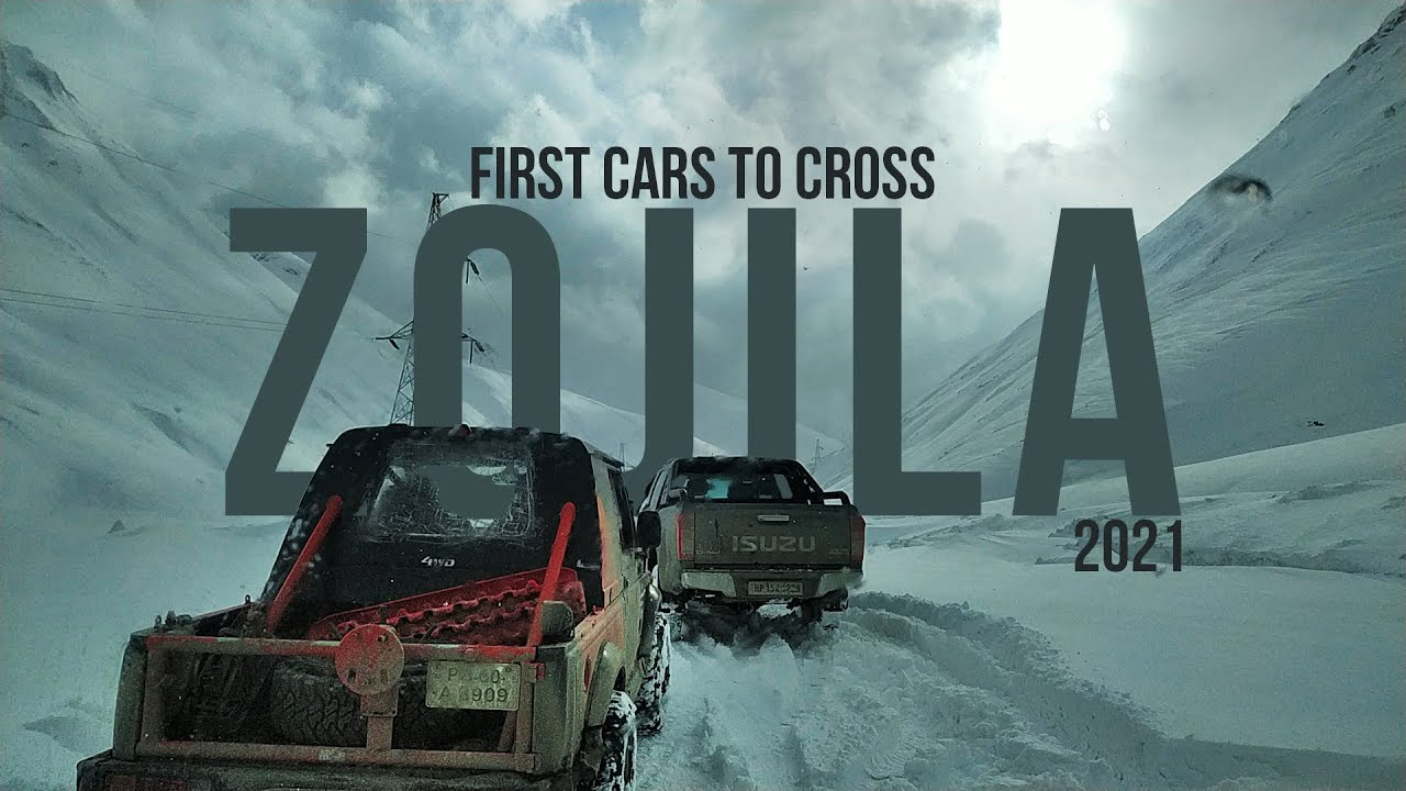 Download First Cars To Cross Zojila Pass In 2021 | Kashmir Off Road