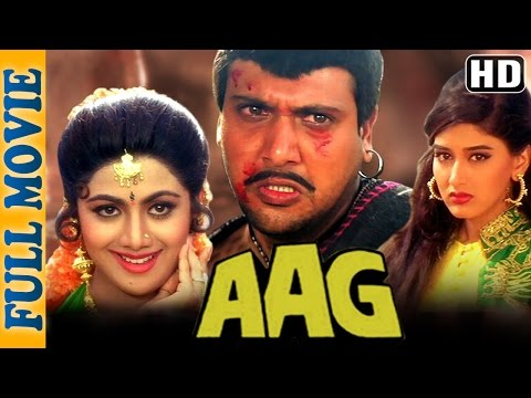 Aag (HD) - Full Movie - Govinda -  Shilpa...