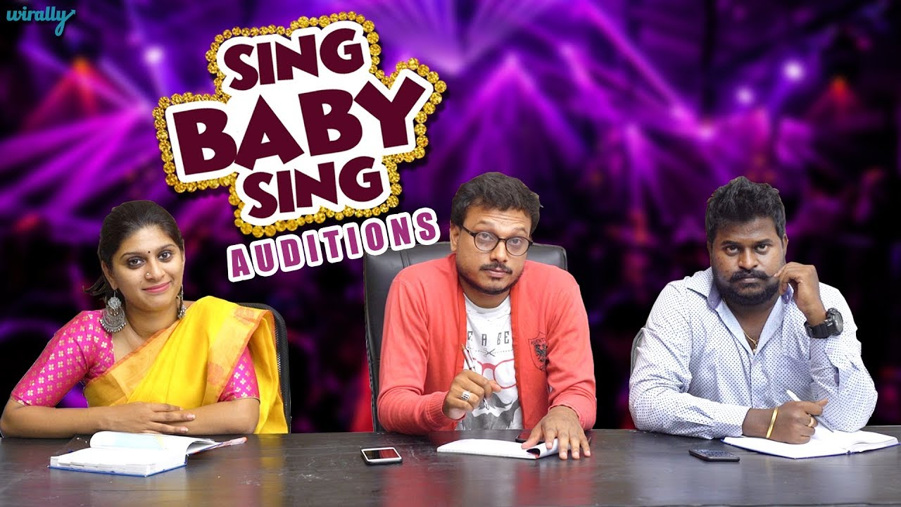 Sing Baby Sing Auditions || Wirally Originals