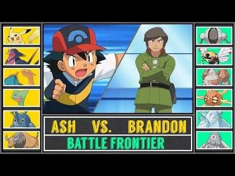 Ash Vs. Brandon (Pokémon Sun/Moon) - Battle Frontier