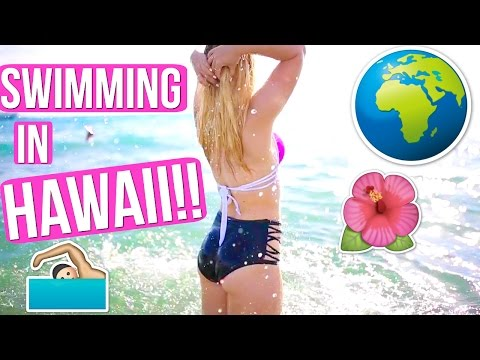 SWIMMING IN HAWAII!!