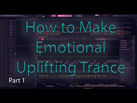 Uplifting Trance Tutorial - Fl Studio 20 - Part 1 (Drums, Bass, Idea Creation)