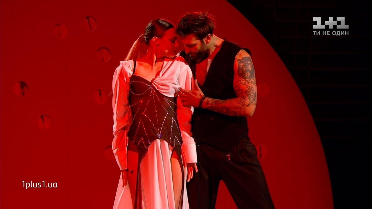 Даніель Салем і Юлія Сахневич - Аргентинське Танго - Танці з зірками 2019