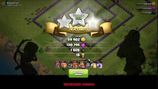 CLASH OF CLANS | HOW TO FARM FAST AND EASY 3 STAR | TROOLING TROOPS
