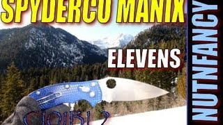 """Spyderco Manix 2: To The Elevens"" by Nutnfancy (Model C101BL2)"