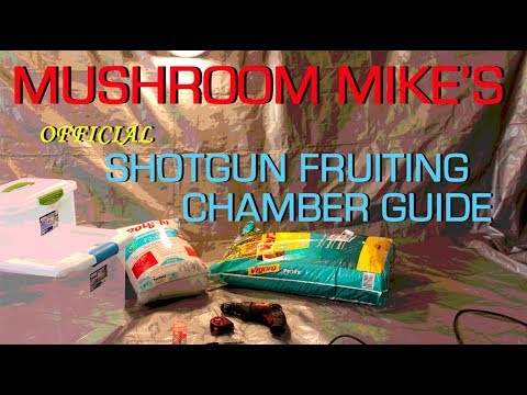 Mushroom Mike's *official* Shotgun Fruiting Chamber Guide