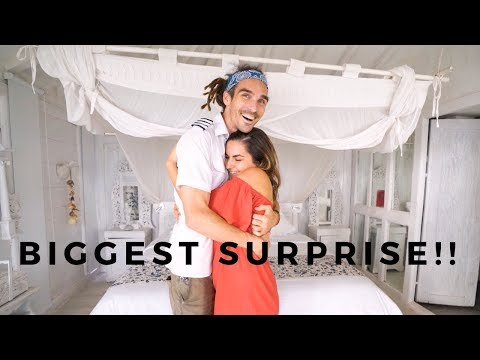 Surprising My Boyfriend In Bali!