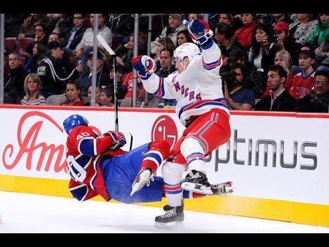 Biggest NHL Hits Montage