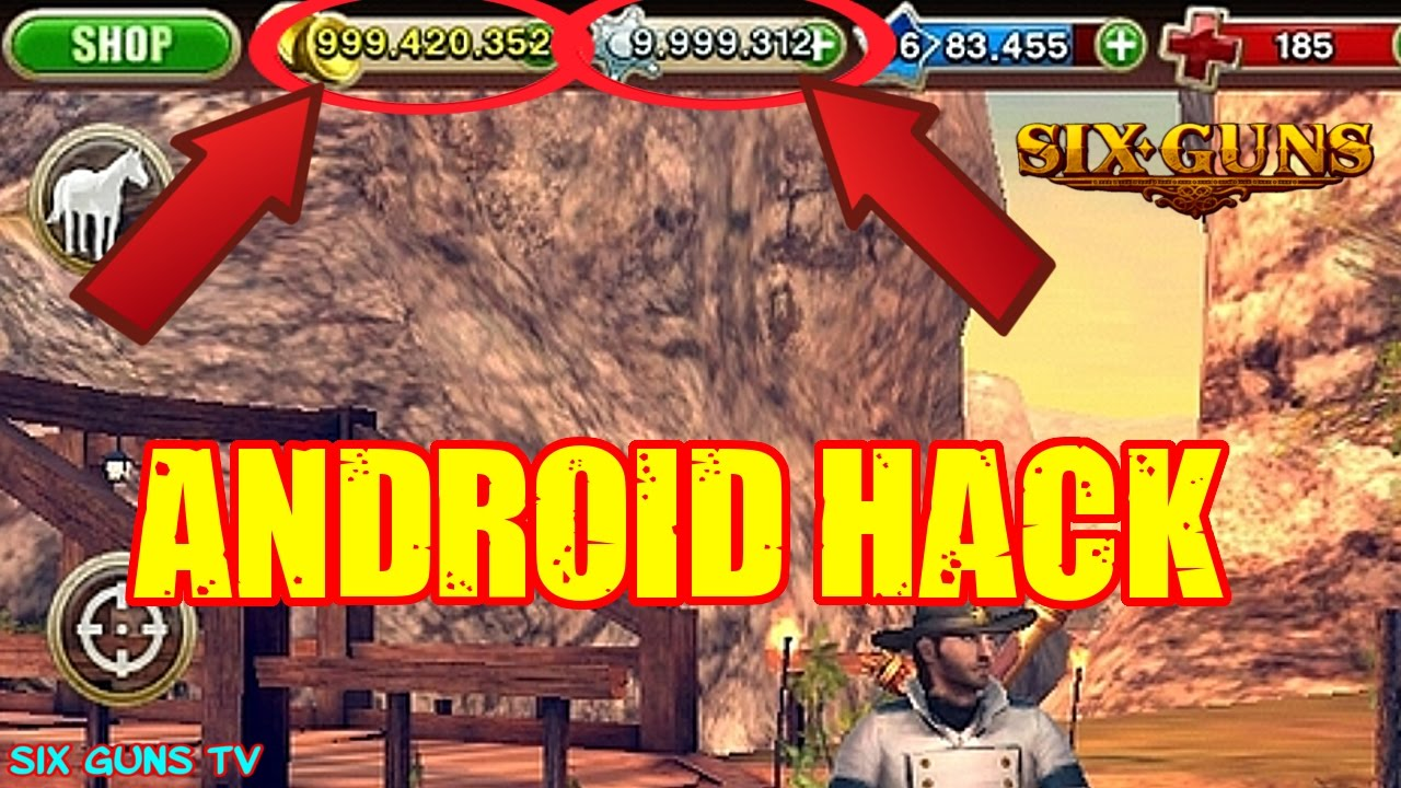 Six Guns 2 9 0 Hack Mod Apk Unlimited Money No Root Youtube