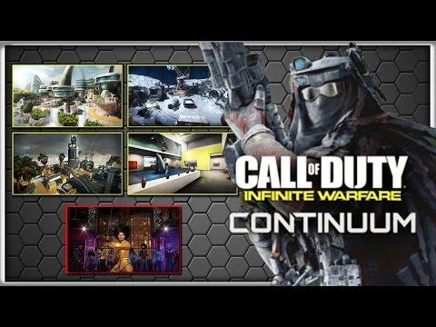 CALL OF DUTY INFINITE WARFARE DLC 2  CONTINUUM MULTIPLAYER GAMEPLAY!
