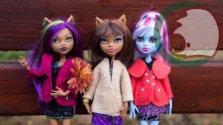 Как сделать пальто для куклы Монстер Хай. How to make a coat for a doll.(В этом видео Самоделушки сошьют пальто для куклы Монстр Хай. In our first video we will show you how to make a coat for dolls., 2013-11-09T21:04:11.000Z)