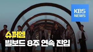 [문화광장] 그룹 슈퍼엠, 미국 빌보드 8주 연속 진입…