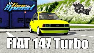 Live For Speed - Fiat 147 Turbo 1kg 140hp ft. ZoiooGamer (G27 mod)