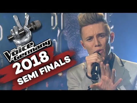 Miley Cyrus - Wrecking Ball (Matthias Nebel) | The Voice of Germany | Halbfinale