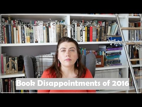 Book Disappointments  of 2016