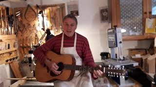 """Robert Brusell """"At Home #3"""" If I were A Carpenter from Tim Hardin. Acoustic guitar cover"""