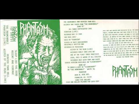 PHANTASM- Sleep Like The Dead Recent And Vintage Tape 1992