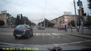 ДТП на перекрёстке ул Пушкинская и Кирова 20082014 Ижевск