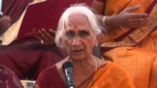 3. Sādhinchane ō manasā Tyagaraja Aradhana Celebrations   - at Saket Pranaam M2U01154