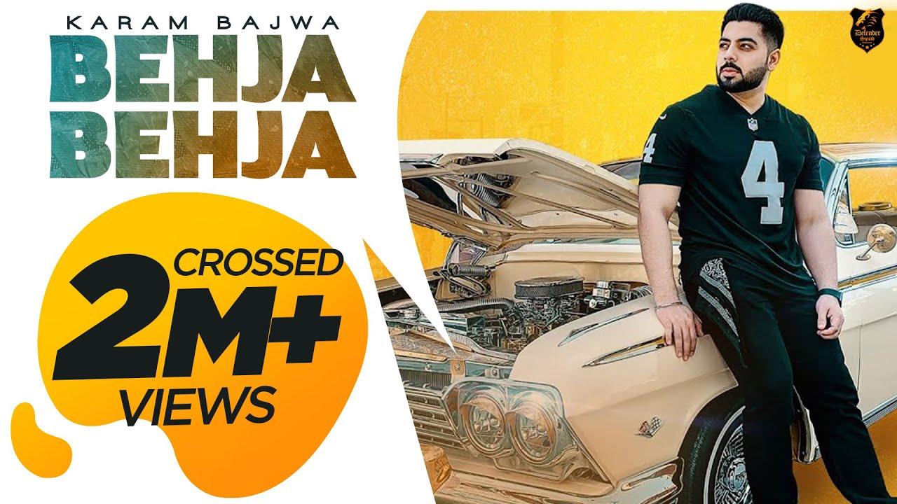 Download Karam Bajwa - BEHJA - BEHJA Feat. Shar S   Ravi RBS [Official Video]