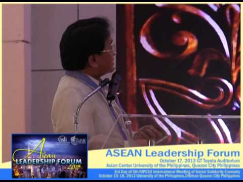 "Dr. Cielito ""Ciel"" Habito at ALF 2013, 3rd Day of RIPESS Manila 2013 Part 1"