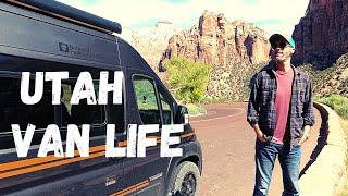 Van Life Utah Fŗee Camping Near Zion National Park