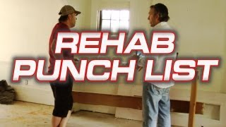 Rehab Punchlist - Real Estate Investing Made Easy #2