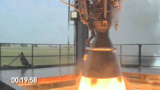 SpaceX Testing: Merlin 1D Engine Firing
