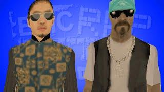 Da Nang Boys vs San Fierro Rifa - ЭПИЧНАЯ РЭП БИТВА В GTA!