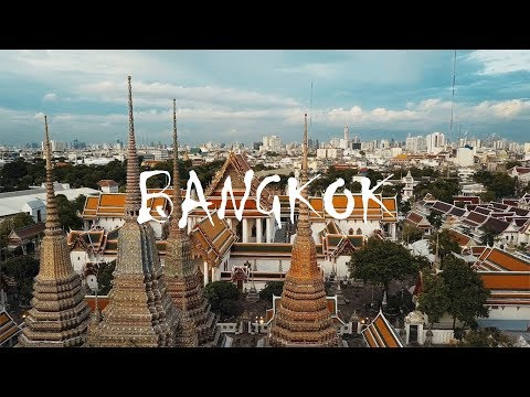Bangkok City - beauty of the Thai capital (drone views)