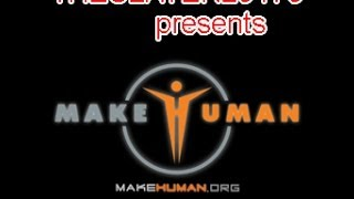 Make Human Exporting With Bones to 3DS Max