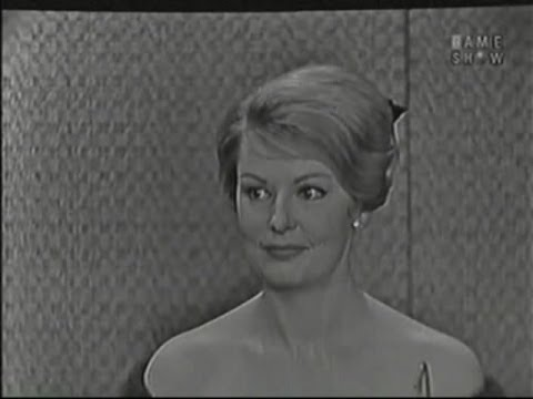 What's My Line? - Arlene Dahl; David Niven [panel] (Dec 13, 1959)