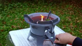 Мощная газовая горелка для казана и вока 27 Квт