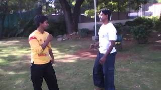 INDIAN KUNG-FU FIGHT.
