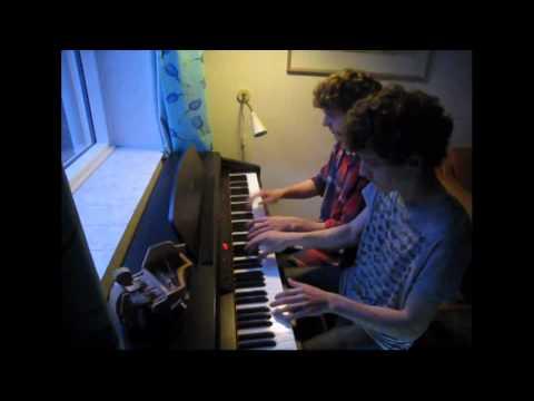 We Speak No Americano - Yolanda Be Cool - (Piano cover)