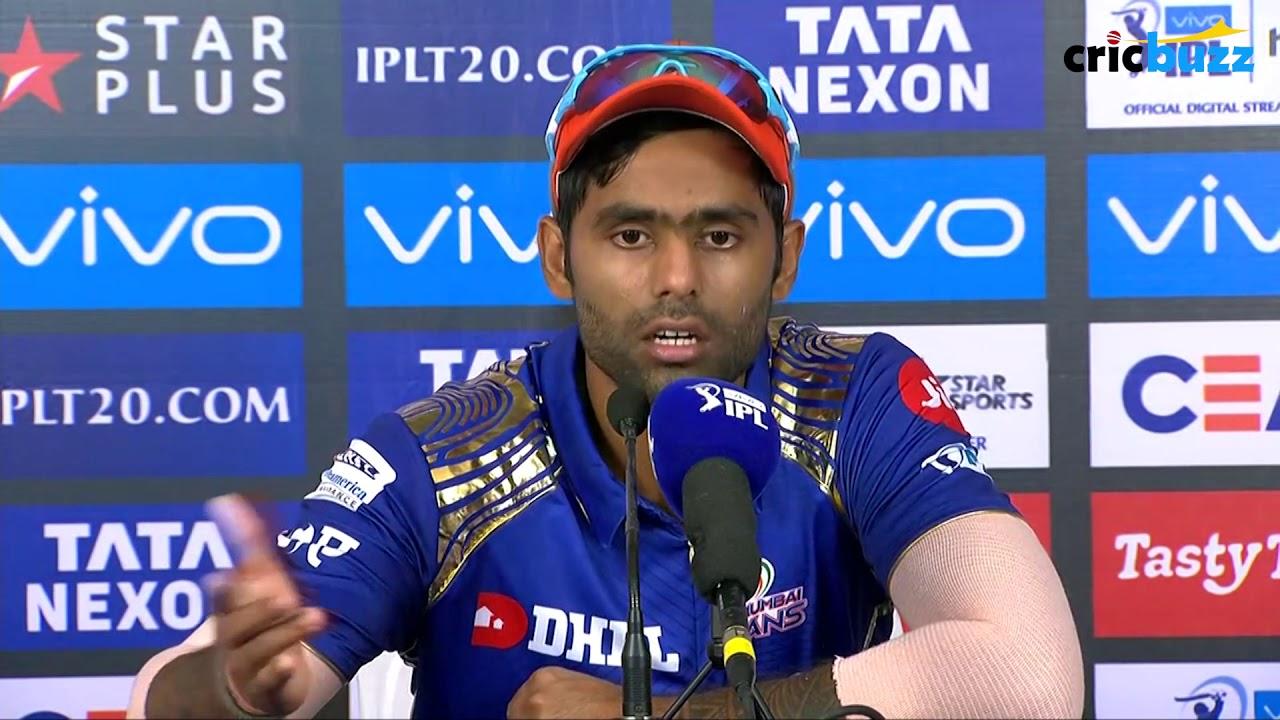 I really enjoy batting up the order - Suryakumar Yadav - YouTube