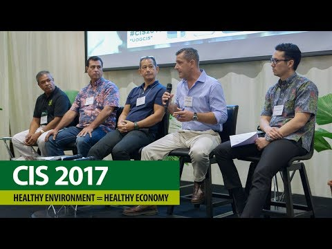 CIS Conference 2017 – Healthy Environment = Healthy Economy, Plenary Panel