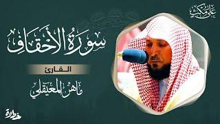 سورة الاحقاف مكتوبة / ماهر المعيقلي