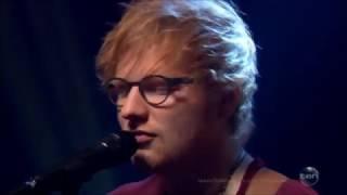 """Ed Sheeran LIVE sings """"Castle on the Hill"""" on Australian Tv Feb 6, 2017"""